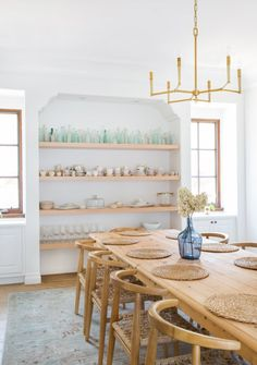 No need for art when you have open shelves like Lauren Conrad's. Her Pacific Palisades was designed by Katherine Carter.