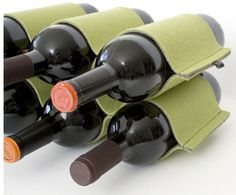 etcetera media | felt wine rack