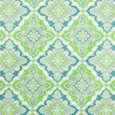 Zoie Indoor/Outdoor Fabric - Turquoise
