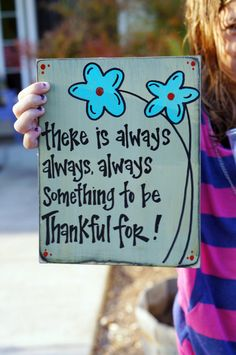 there is always always always something to be thankful for. $16.95, via Etsy.