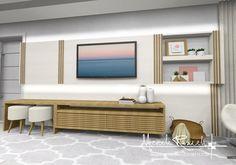 Painel de tv amor com detalhes ripadinhos 💖💖💖 #micheleravadeli #interior #interiordesign #decor #designdeinteriores #design #decoração…