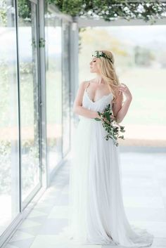 Romantic wedding dress by Janita Toerien design in South africa
