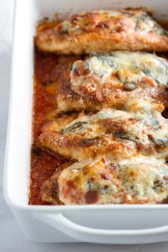 Totally Doable Chicken Parmesan