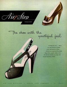 The shoe with the youthful feel - 1946