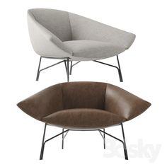 3d models: Sofa - Sofa and armchair Lennox Lema