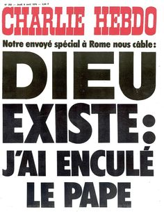 Charlie Hebdo - # 282 - 8 Avril 1976 - Couverture : Collectif