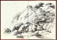 The coasts | Albrecht Rissler's Drawing Landscape