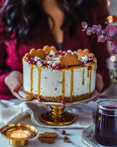 Ihana Joulujäätelökakku (M)   Annin Uunissa Tiramisu, Cheesecake, Candy, Baking, Sweet, Ethnic Recipes, Desserts, Food, Ideas