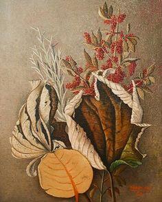 Sea Grape Print, artist not known to me.