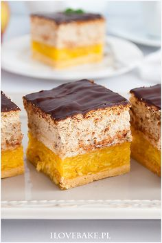 niebo w gębie Apple Cake Recipes, Baking Recipes, Dessert Recipes, Polish Desserts, Polish Recipes, Cheesecake Pops, Kolaci I Torte, Tasty Videos, New Cake