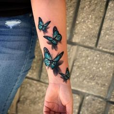 Rose And Butterfly Tattoo, Colorful Butterfly Tattoo, Butterfly Tattoo Meaning, Butterfly Eyes, Butterfly Tattoos For Women, Butterfly Tattoo Designs, Dragonfly Tattoo, Butterfly Pictures, Red Bird Tattoos