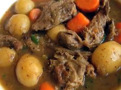 Discover a new twist on ordinary peanut stew, add goat! Make and share this easy one pot West African goat peanut butter stew recipe with family and friends tonight. Irish Stew, Pork Stew, Lamb Stew, Peanut Butter Stew Recipe, Recipe Stew, Goat Recipes, Cooking Recipes, Vegan Recipes, Irish Recipes