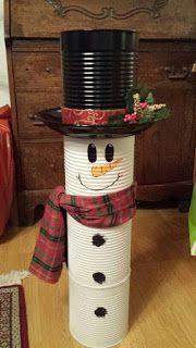 Aprende cómo decorar latas de leche para esta navidad ~ lodijoella