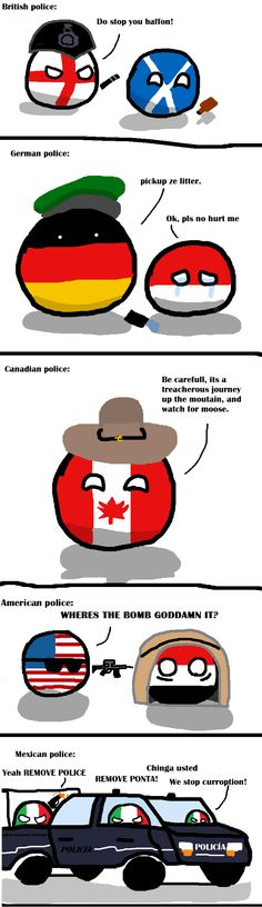 Police by country Funny Cute, Hilarious, Haha, History Memes, Funny Facts, Funny Comics, Funny Moments, Funny Pictures, Jokes
