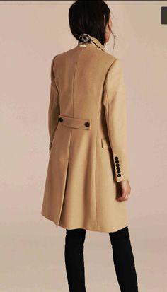 Burberry - cappotto sartoriale lana e cachemire