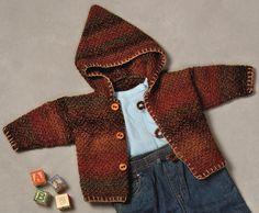 Ravelry: Baby Hooded Coat pattern by Sandi Prosser