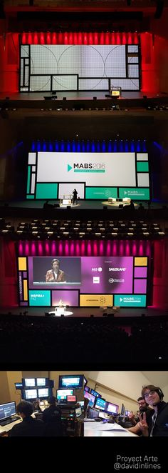 #Mapping Convention #MABS2016 #Atresmedia #Stage