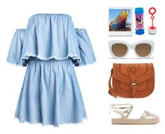 """Coachella Style N°6"" by yellowgrapes ❤ liked on Polyvore featuring Zara, Sole Society, Quay and Disney"