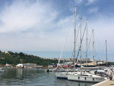 Sailboats in Ortona