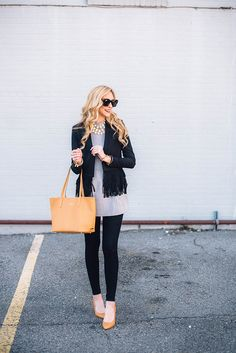 A Pinch of Lovely | Southern Fashion & Style Blog: How To Dress Up Your Jeans For the Office