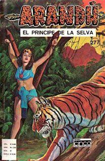 ARANDÚ , EL PRINCIPE DE LA SELVA Nº4