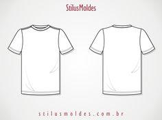 desenho técnico camiseta - Pesquisa Google