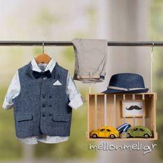 Bambolino Alexis, 8870 - Βαπτιστικό Σετ για αγόρι, Συλλογή Άνοιξη-Καλοκαίρι 2019 Kids, Coats, Young Children, Boys, Wraps, Coat, Children, Boy Babies, Winter Coats