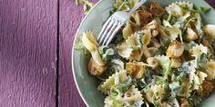 Boodschappen - Pasta met champignons en rucola
