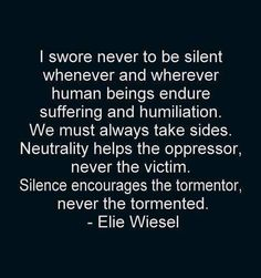 the effects of holocaust to humanity in elie wiesels story night 1997-5-13  as a survivor of the holocaust, elie wiesel has to reevaluate god in his world  elie wiesel: messenger to all humanity  elie wiesel night.