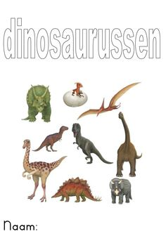 Monster, Was, Animals, School, Early Education, Dinosaurs, Animales, Animaux, Animal