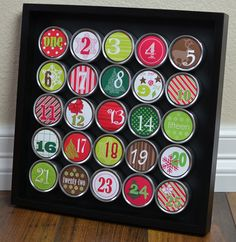 Advent calendar DIY - by Davet Designs  This is such a cute idea-LOVE IT!!  Now the hunt for the stuff to make it!!