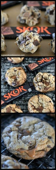 Skor Double Chocolate Chip Cookies