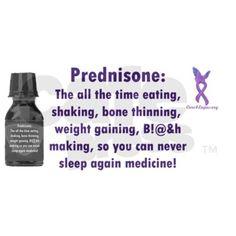 preventing weight gain prednisone