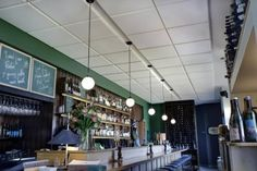 Acoustic ceiling panels are very popular products which feature a stylish bevelled edge. SoundFix Acoustic offers various acoustic products including acoustic ceiling panels, which are delivered in white or can be matched to almost each colour.