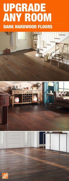 Dark Hardwood Flooring The Home Depot