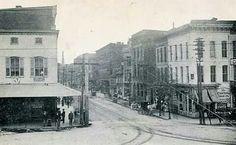 Early 1900s Washington St & Square.