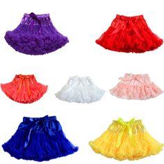 Girl Tutu Baby Cute Party Dance Princess Pettiskirt Fluffy Dance Wear Skirt
