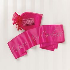 Personalized Future Mrs. Sash for the Bride To Be