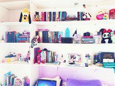 estante de livros | Tumblr