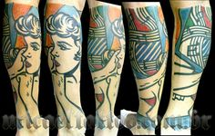 Gorgeous linework, bold colors, very Sailor Jerry-esque. Unf, I love it.