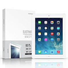 SIEGE - Glastimate Premium Tempered Glass Screen Protector for iPad 1/2/3/4