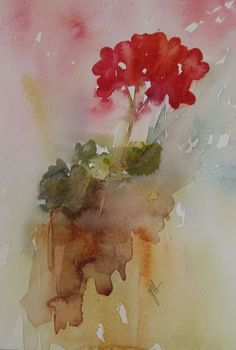 """""""Red is for Love"""" Jean Haines"""