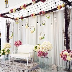 52 Best Simple Stage Decor Images In 2019 Marriage Decoration