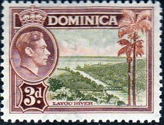 Dominica 1938 King George VI SG 104 Fine Used Scott 102 Other Dominica Stamps HERE