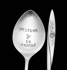Stamped Spoon Funny Spoons Gifts Under Skull Spoon Stamp In Dog Years Birthday Spoon Hand Stamped Vintage Teaspoon  Stamped Silverware