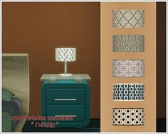 Table Lamp Plug-In Chandelier at Sims by Mulena • Sims 4 Updates