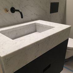 Marmorvask fås i ønsket mål 😉 Home, Decor, Sink, Bathroom