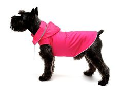 Legitimutt Detachable Hooded Dog Raincoat, Size Hot Pink -- Check out this great image : Dog coats Dog Raincoat, Dog Itching, Dog Training Pads, Dog Dental Care, Dog Food Storage, Dog Shower, Dog Shedding, Dog Diapers, Dog Eyes