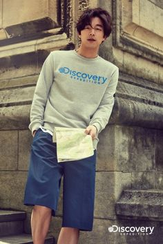 Gong Yoo in Discovery Expedition's 2015 Spring Lookbook And Commercial
