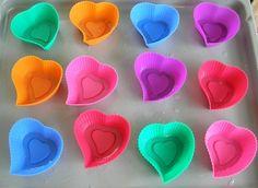 Himbeer-Kokos Cupcake Herzen